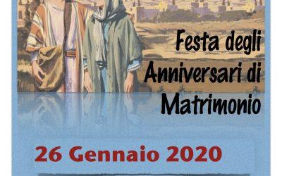 Anniversari di Matrimonio e Pranzo comunitario